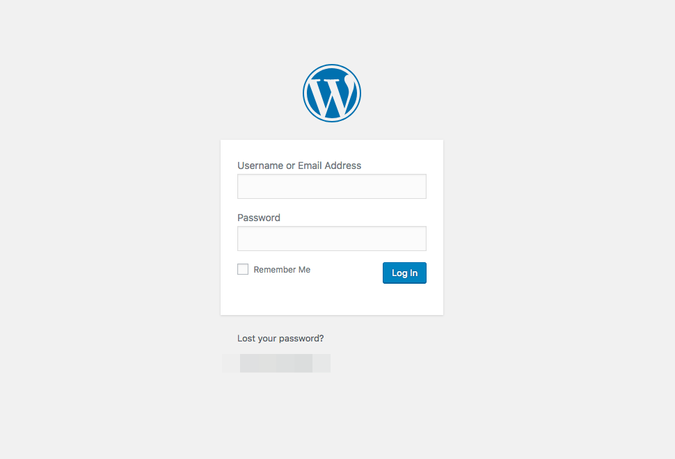 Protect WordPress Login Page