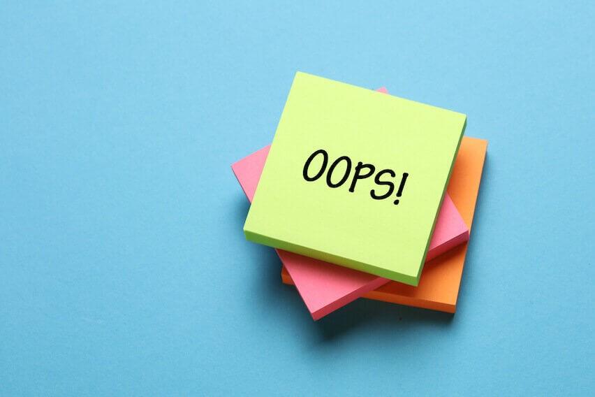 wordpress security mistakes