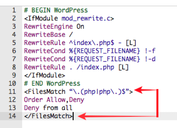 PHP execution, directory browsing
