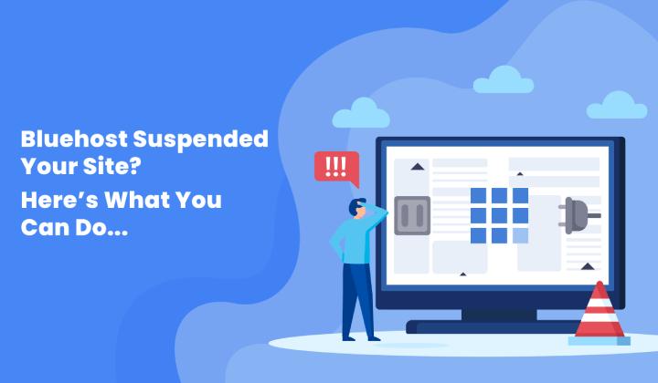 Websites are often suspended because of the presence of malware