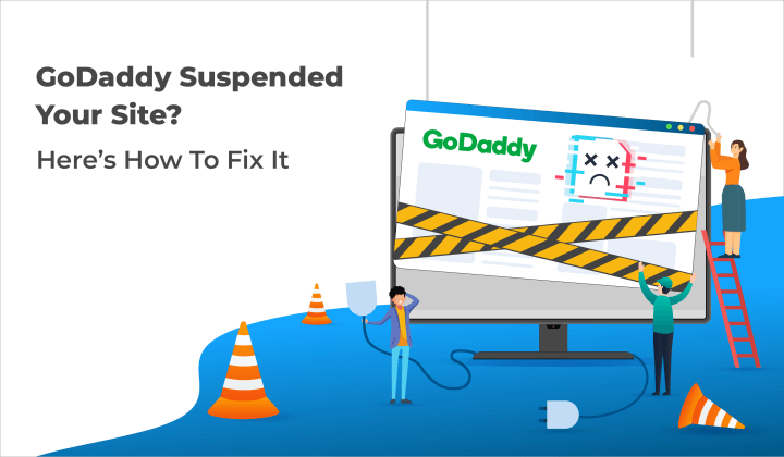 Install MalCare to fix the site suspended by Go Daddy