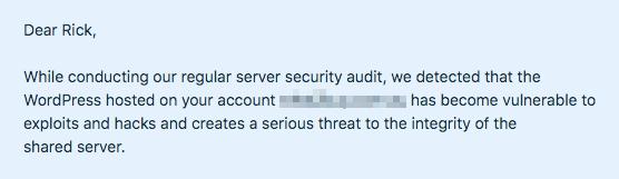 Siteground account suspended