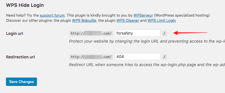 change wp login page