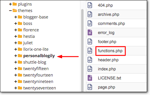 functionphp file manager