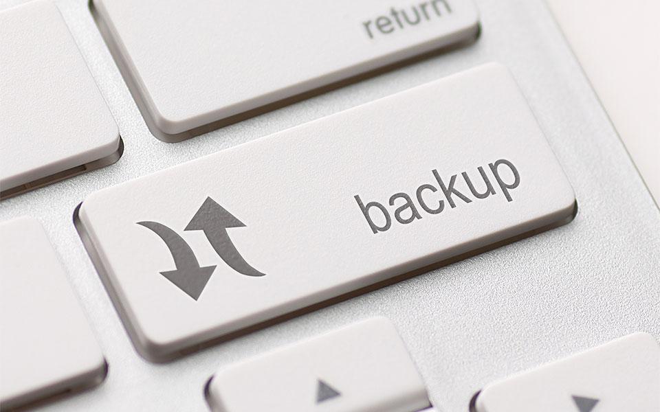 backup your WordPress site