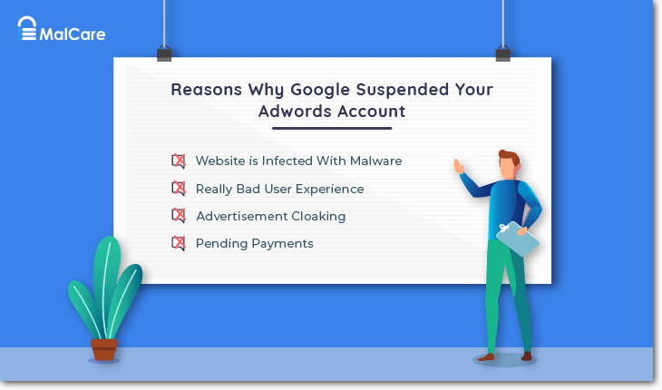 why Google Adwords Account Suspension