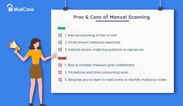 Pros & Cons of Manual Scanning