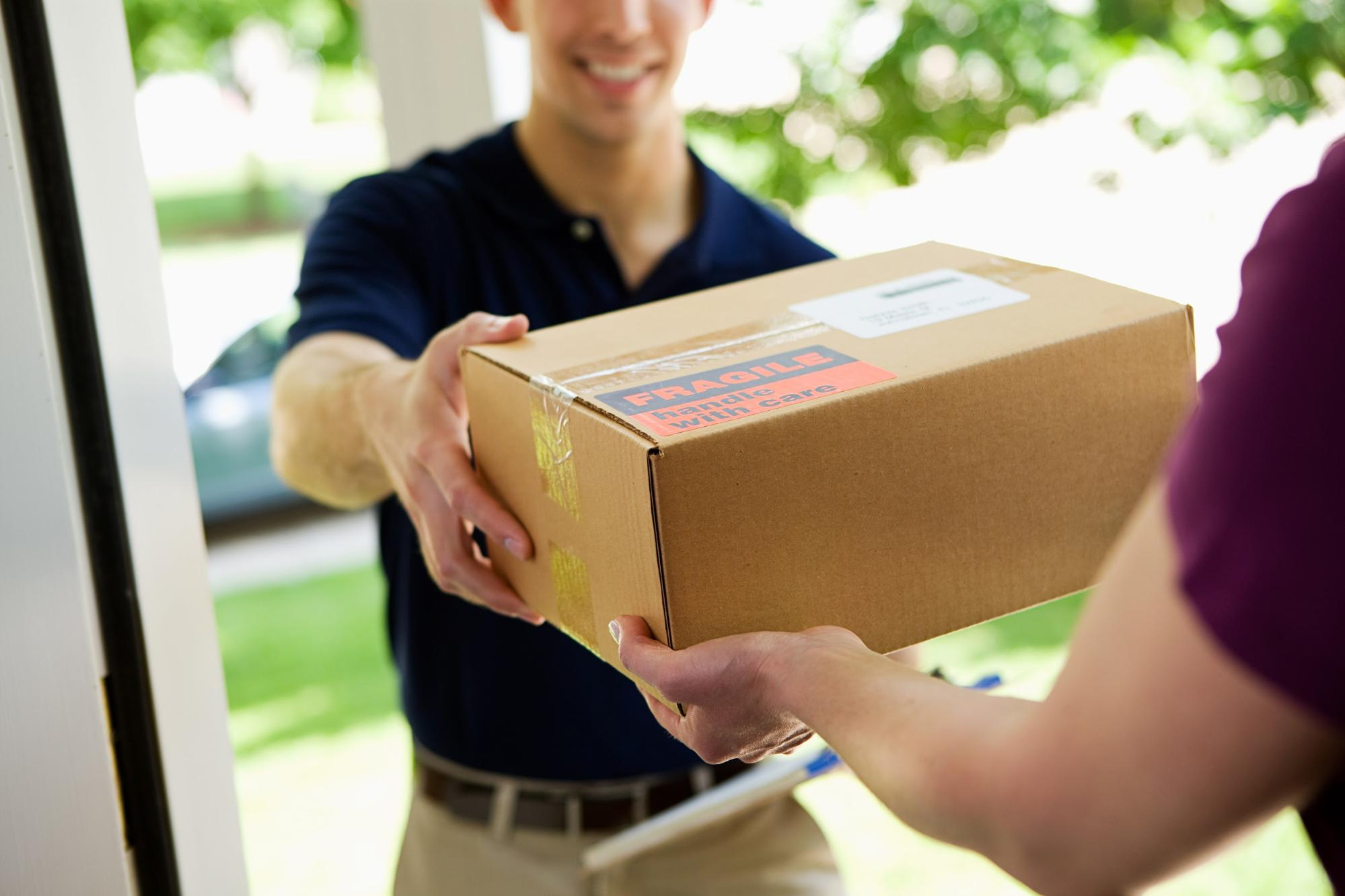 e-commerce website delivery