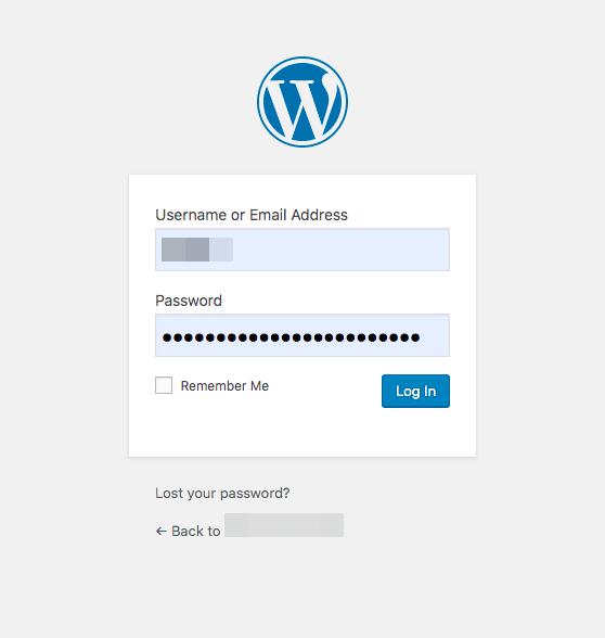 website login protection