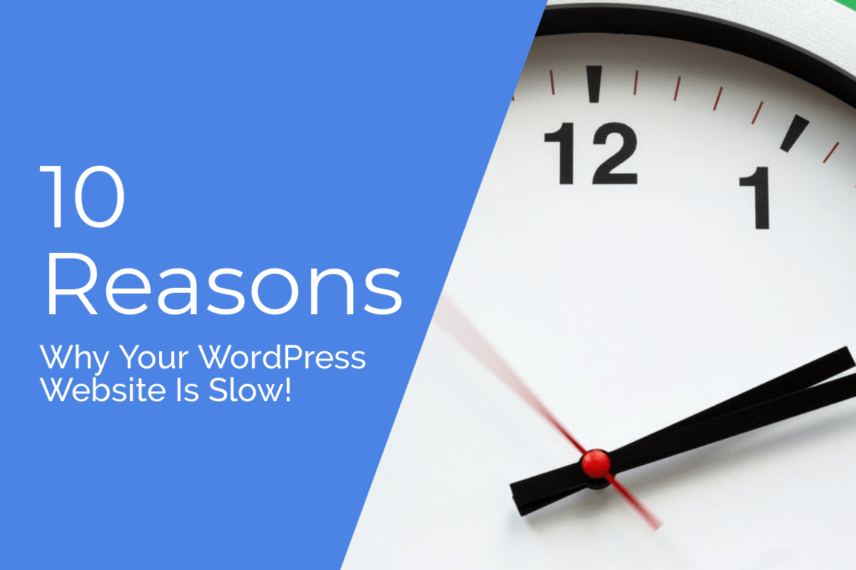 10 reasons why your website is slow