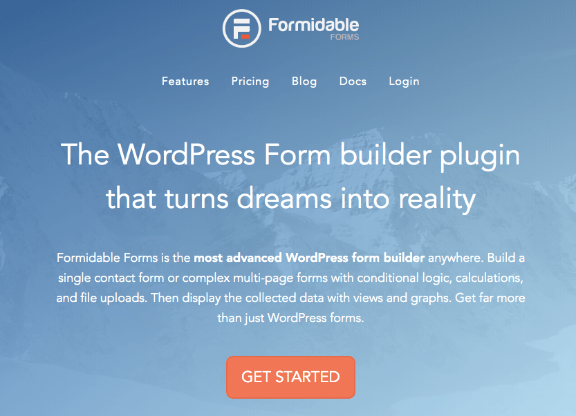 wordpress form plugins - Formidable Forms