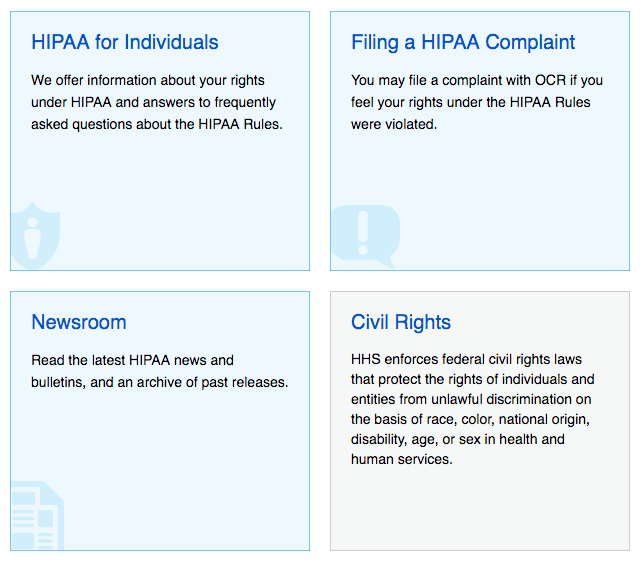 HIPAA rights