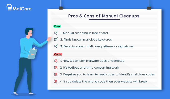 Pros & Cons of Manual Cleanups