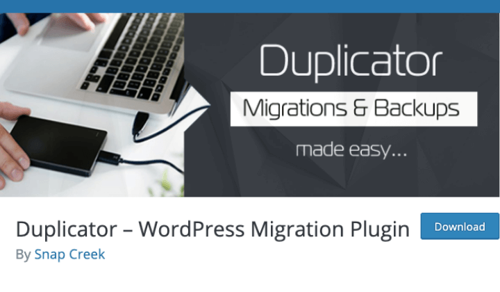 Duplicator Staging Plugin