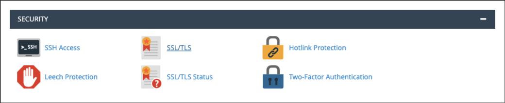 Installing Security Certificates