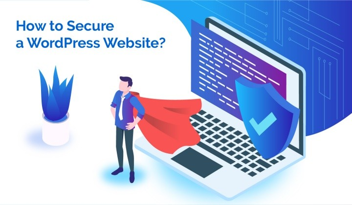how to secure a wordpress website feature image
