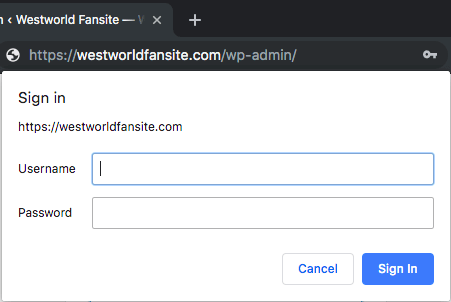 Using HTTP Authentication