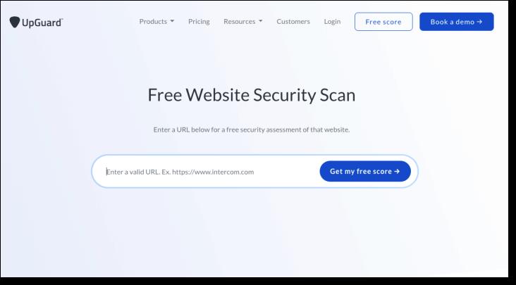 UpGuard Web Scan