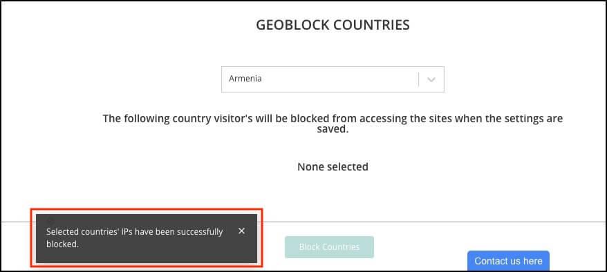 malcare geo blocking
