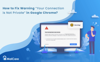 """How to Fix Warning """"Your Connection is Not Private""""?"""