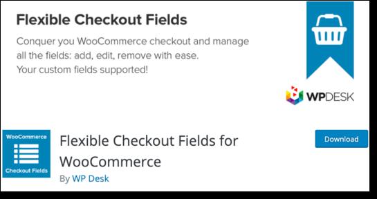 Flexible Checkout Fields WordPress Plugin