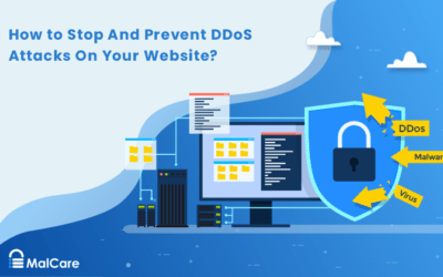 How to Stop And Prevent DDoS Attacks On Your Website?