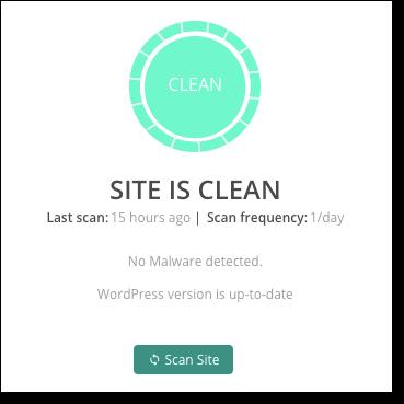 malcare clean site