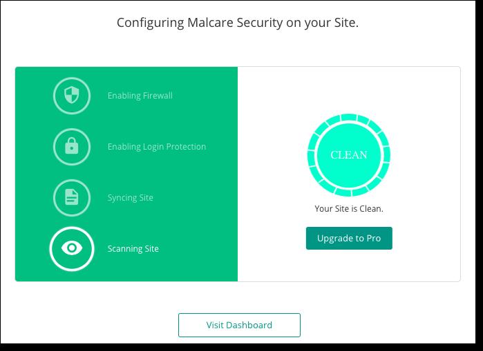 malcare scanned website