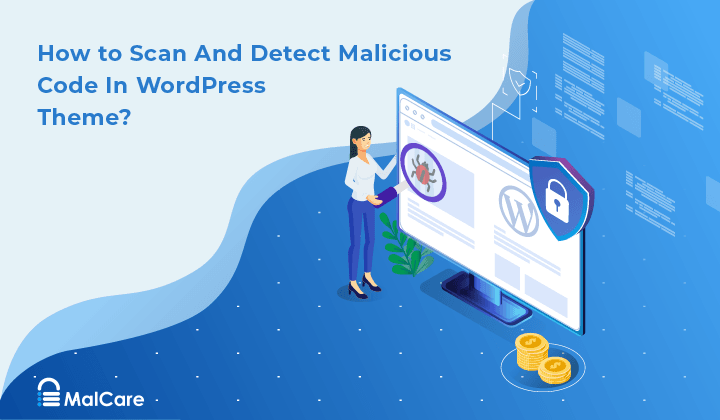 scan wordpress theme for malicious code