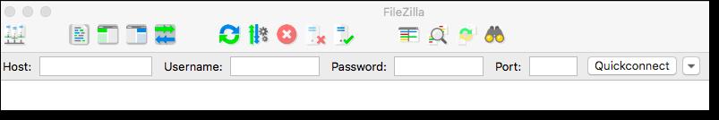 filezilla quick connect