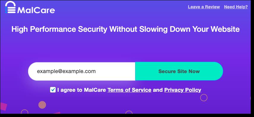 malcare free scan