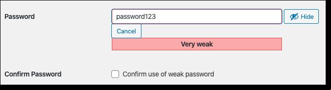 weak-password-on-wordpress