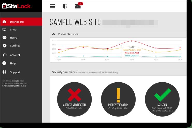Sitelock - WordPress Security Plugins