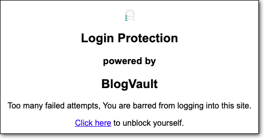 Login Protection From BV