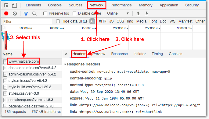 finding what server your site is on