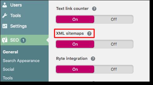 xml sitemaps yoast