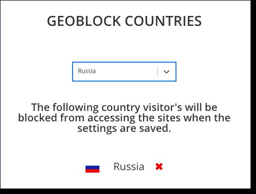 geoblock countries