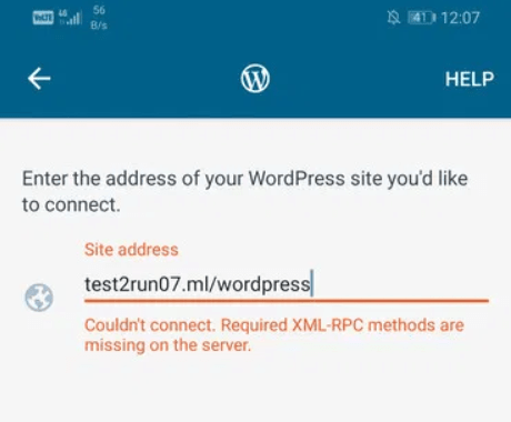 Connecting to the WordPress Mobile App using XML-RPC