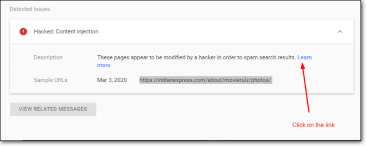 console hacked content injection
