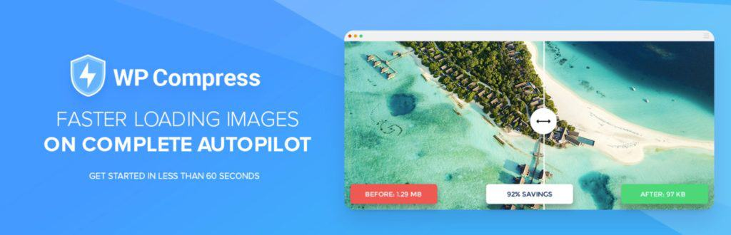 WP Compress image compression plugin for WordPress